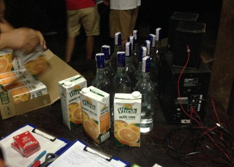 All the vodka in Vietnam