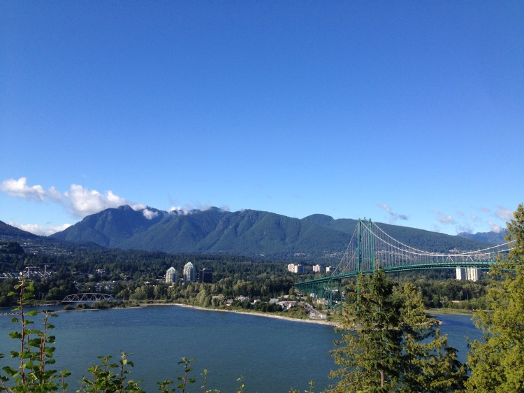 (1) View from Stanley Park