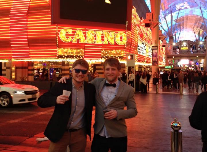 Me & Tim in Vegas